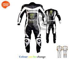 Tute in pelle e altri tessuti bianchi per motociclista Taglia XS