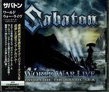 SABATON-WORLD WAR LIVE: BATTLE OF THE BALTIC SEA-JAPAN CD G35