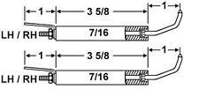 Crown 25212-02 Set Of Electrodes For Miller 308-0550 Used On FS  Oil Burners