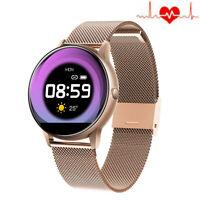 Smartwatch Fitness Tracker Sportuhr Herzfrequenz Armband für iPhone Samsung Moto