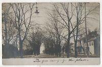 RPPC Street View, NORTHUMBERLAND PA Vintage Pennsylvania Real Photo Postcard