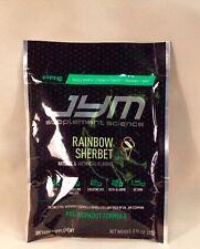JYM Supplement Science Pre-Workout Formula RAINBOW SHERBET Single Serving