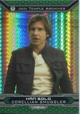 Star Wars Chrome Perspectives II Prism Parallel Base Card 19-J Han Solo