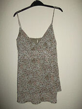 LADIES NEW LOOK ANIMAL PRINT TOP SIZE 12