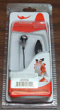 Black In Ear Universal 3.5mm Stereo Handsfree Headset With On&Off Button and Mic