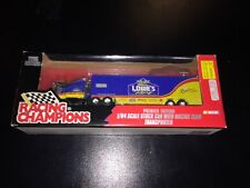 1996 Premier Edition Lowes Racing Team Diecast Transporter 1:64