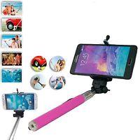 Pink Monopod Selfie Stick Telescopic For Motorola Moto Z X Pure G⁴ G⁴ Plus G³ E