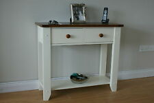 SOLID OAK HALL / CONSOLE / SIDE / END TABLE