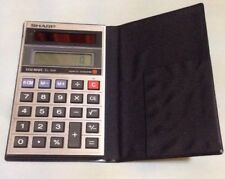 Vintage Sharp Elsi Mate Solar Cell EL 356 calculator In Wallet