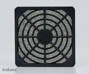 Akasa GRM120-30 120mm Fan Filter Black