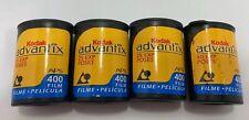 Lot of 4 Kodak Advantix 400 APS Film - 25 Exp Advanced Camera Photo Film