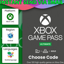 Xbox Live Gold & Game Pass Ultimate Code 12, 24, 36 Month Keys - *INSTANT*