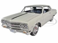 1965 CHEVROLET CHEVELLE MALIBU SS L79 ERMINE WHITE 1/18  LTD 528pc ACME A1805303