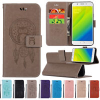 For OPPO A73/A75/F5/A59/F1s Wallet PU Leather w/Card Slots Stand Flip Case Cover