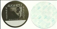 Alicia Keys 2002 World Tour Guest Pass X2