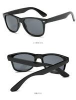 Occhiali da Sole da Uomo Quadrati Fashion Colore Nero Lucidi