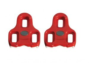 Genuine Look Keo Cleat Set - Red - 9⁰ Float