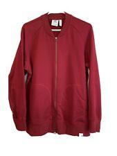 abierta paquetes de 5 69cmm//27in de largo chaquetas jerseys abrigos Cremalleras Rojo