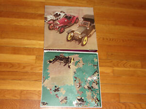 Vintage 1981 Eaton Classic Cars Jigsaw Puzzle 15-393-90 Complete 18 x 24 Inches