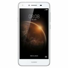 "Vodafone Huawei Y6 Elite LYO-L02 4G White 5"" Screen 8MP Camera Android 5.1"