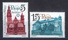 POLONIA/POLAND 1984 MNH SC.2656/2657 Cracow Restoration
