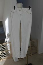 NWOT SEVEN FOR ALL MANKIND WHITE JEANS 27 GREAT CONDITION $185