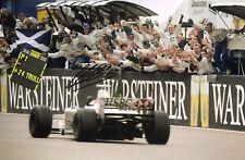 Johnny Herbert mano firmado Stewart Ford F1 18x12 foto.