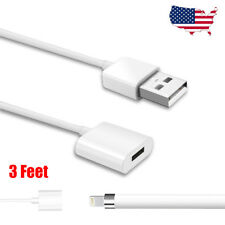 USB to Lightning Female Charging Adapter Cable Charger For iPad Pro Apple Pencil