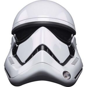 STAR WARS: First Order Stormtrooper Electronic 1:1 Scale Helmet Replica (Hasbro)