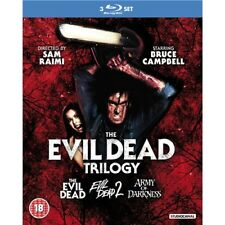 The Evil Dead Trilogy 1+2+3 New Blu-ray RegB (3 Discs)