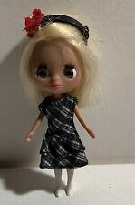 "4-1/2"" MINI BLYTHE FACTORY LPS Buckles & Bows Mini Doll"