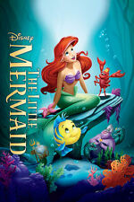 "The Little Mermaid ( 11"" x 16-1/4"" ) Movie Collector's Poster Print - B2G1F"