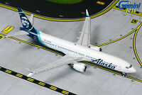 Alaska Airlines Boeing 737 MAX 9 N913AK Gemini Jets GJASA1873 Scale 1:400