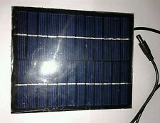 12v 250ma Mini SOLAR PANEL Cell, Wired ready to use for DIY, Emergency light etc
