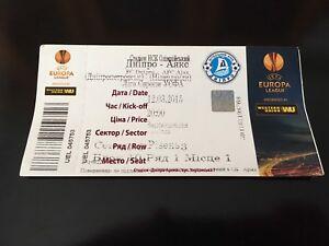 Ticket Match Europa League Fc Dnipro Ukraine - AFC Ajax Netherlands 2015