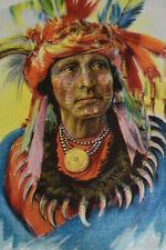 American Indian Tobacco Felt (L-3)