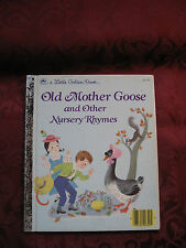 Little Golden Book - Old Mother Goose and other Rhymes 1988
