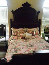 JC PENNEY BOUDOIR Bedding Set FULL SIZE COMFORTER  DRAPES ETC 19 Pcs Shabby Chic