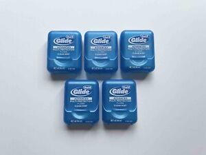 Oral B Glide Advanced Dental Floss Clear Mint 5 pcs / Total 240.5 yd