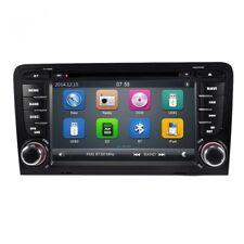 AUTORADIO NAVIGATORE DVD GPS MP3 USB S BLUETOOTH PER AUDI A3 S3 DAL 2003 AL 2013