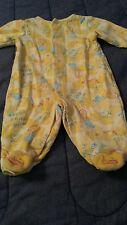 baby lot of 4 long-sleeved outfits 0-6 months white and yellow ducks