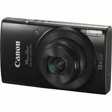 Canon PowerShot ELPH 190 IS Digital Camera (Black) 1084C001