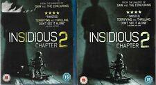 Insidious - Chapter 2 (Blu-ray, 2014)  Region B