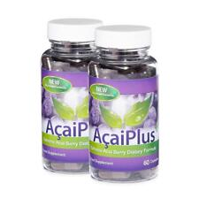 Acai Berry PLUS tè verde PERDITA DEL PESO PILLOLE 120 capsule EVOLUTION Slimming