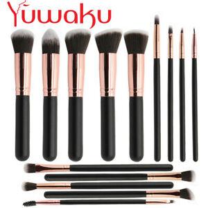 14Pcs Professional Cosmetic Makeup Brush Set Eyeshadow Foundation Kabuki Brushes