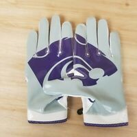 NIKE SUPERBAD 4 KANSAS STATE WILDCATS FOOTBALL GLOVES PGF432-118 SZ: XL