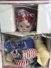 Marie Osmond Hugs Doll Red White and I Love Blue Patriotic
