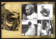 Malta 2019 Birth of Mohandas Karamchand Gandhi 150th Anniversary Unmounted Mint