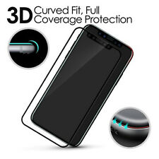 3D Full Curved 9H Hardness Tempered Glass Screen Protector for Apple iPhone X UK