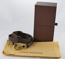 New Authentic Louis Vuitton Monogram Belt Bag Strap Brown 45""